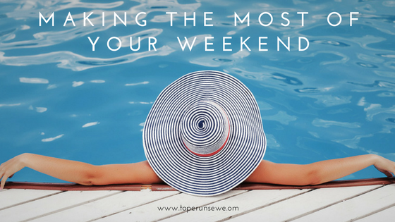 Making the most of your weekend- Tope Runsewe